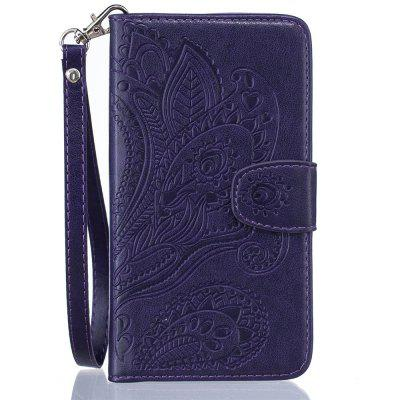 Wallet Flip Stand Case Embossed Plants PU Leather Cover Case for iPhone 6/6S flower butterfly diamond leather stand wallet case for iphone 6s 6 4 7 light purple