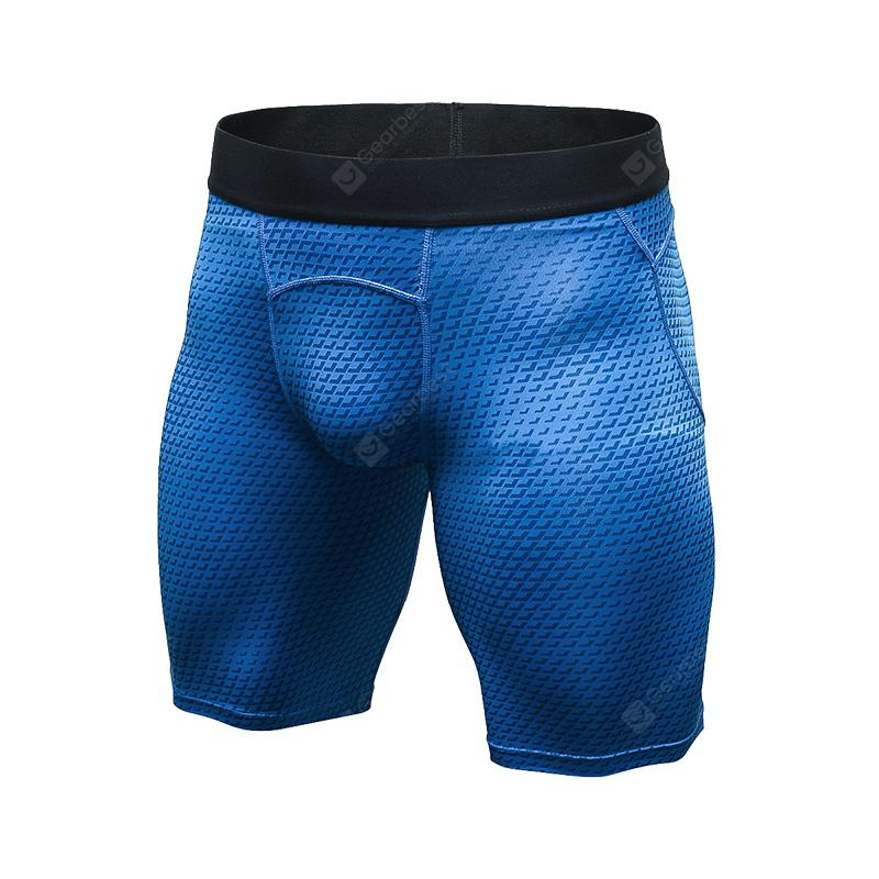 Quickly Dry Gym Sport Train Men'S Jogging Compression Tight Running Short