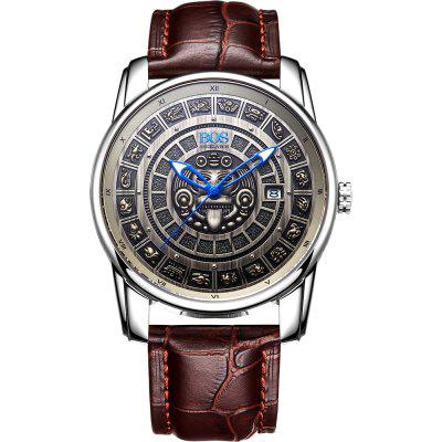 AngelaBos 9018G Automatic Mechanical Men Watch