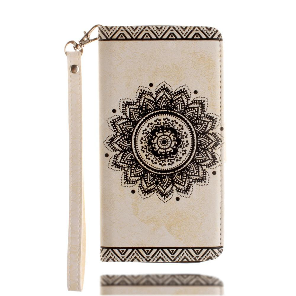 Luxury Retro Mandala Flip Leather Case For for Motorola Moto G4 / G4 Plus