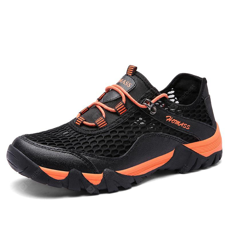 HOMASS Men Casual Hiking Wear Water Outdoor Mesh Arrampicata Scarpe traspiranti