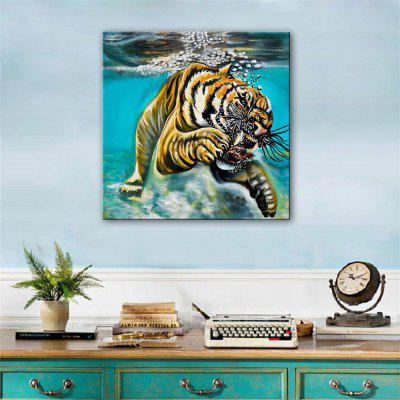 Special Design Frameless Paintings Diving Print