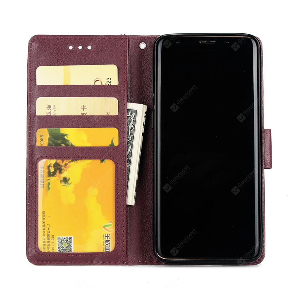 Cover Case for Samsung Galaxy S9 Flip Wallet PU Leather Magnetic Fundas Silicone