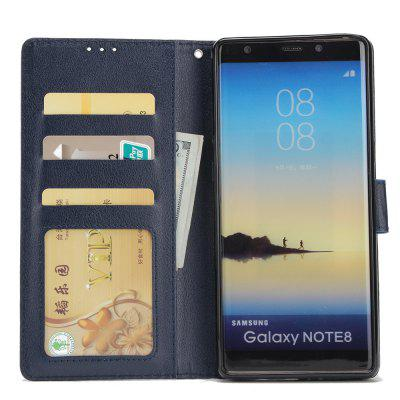Cover Case for Samsung Note 8 Flip Wallet PU Leather Magnetic Fundas Silicone