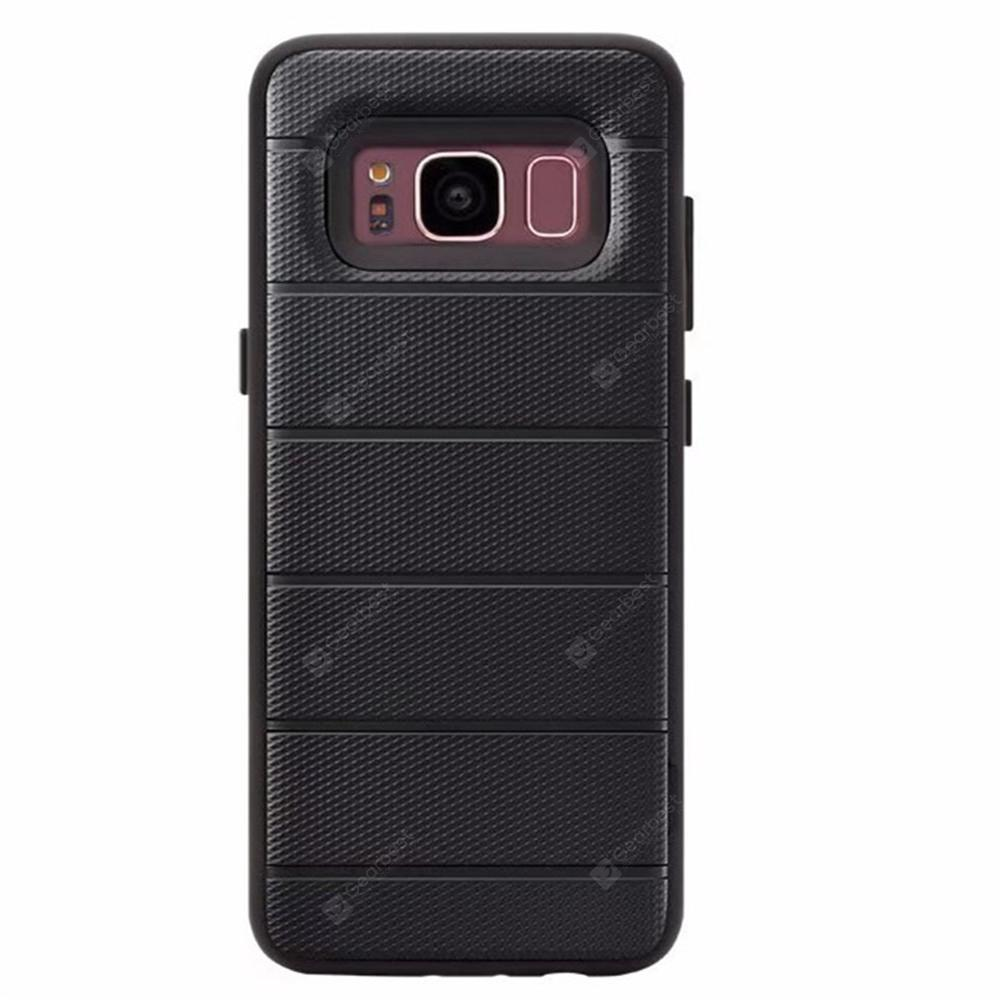 Cover Case for Samsung Galaxy S8 Heavy Duty Armor Holder Stand Deluxe Shockproof