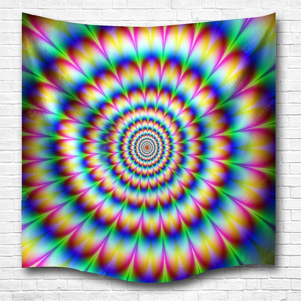 Vertigo 3D Printing Home Wall Hanging Tapestry for Decoration
