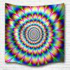 Vertigo 3D Printing Home Wall Hanging Tapestry for Decoration - MULTI-A