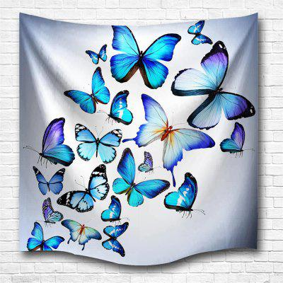 Butterfly Combination 3D Printing Home Wall Hanging Tapestry for Decoration