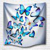 Butterfly Combination 3D Printing Home Wall Hanging Tapestry for Decoration - MULTI-A