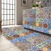 CZ001 3D Tile Floor muursticker 5PCS - MULTI