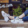 New Casual Fashion Small White Shoes - BLACK