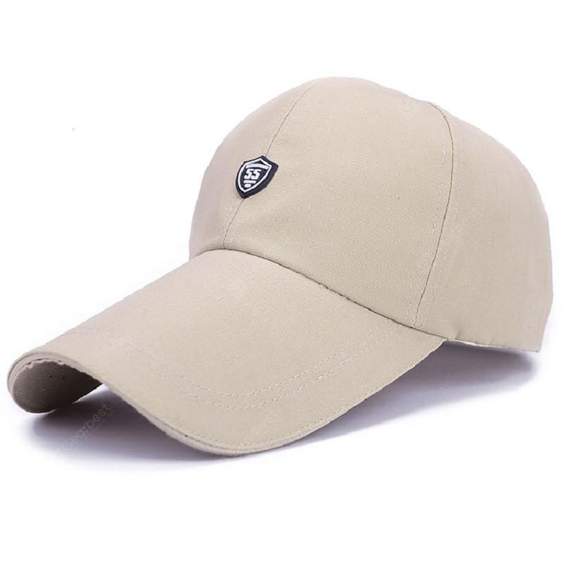 ZHAXIN Long Brim Canvas Visor Hat for Man and Women