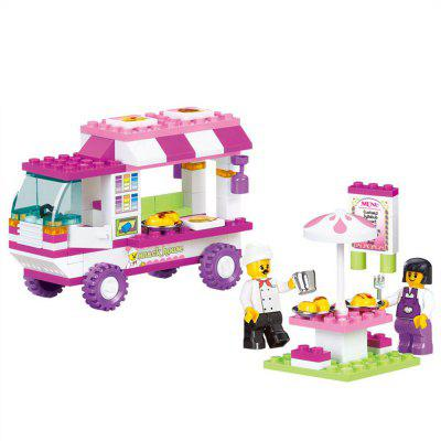 Building Block Educational Assembling Boy Girl Gift for Food Truck 102PCS