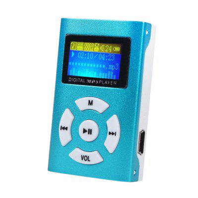 Mini reproductor de MP3 de pantalla LCD