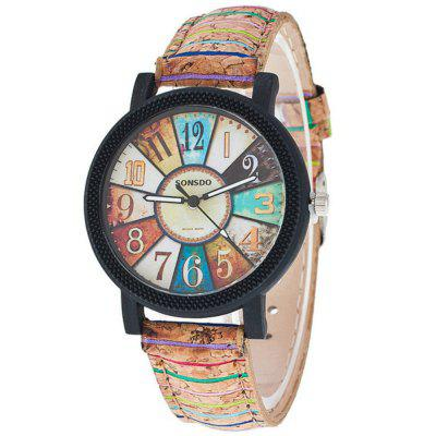 Studentul coreean Harajuku Retro casual Watch minimalist de moda