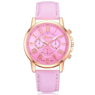 Женева моды Candy Color Watch Leisure Student Watch