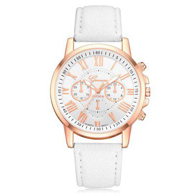 Geneva Fashion Candy Color Watch Leisure Student Watch