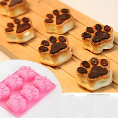 DIHE Cat Paws Multifunctional DIY Cake Chocolate Ice Cube Mould