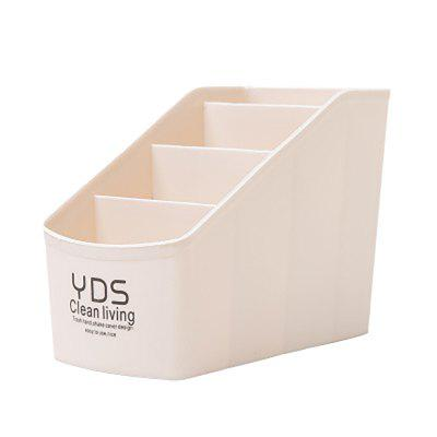 DIHE Multifunction Plastic Stationery Cosmetics Desktop Storage Box