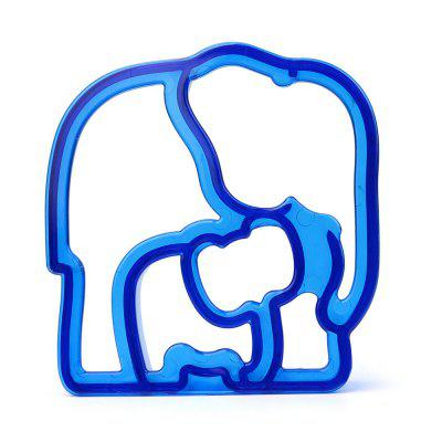 Elephant Shape Kid Lunch Sandwich Toast Cookie Cutter Cake Bread Biscuit Mold