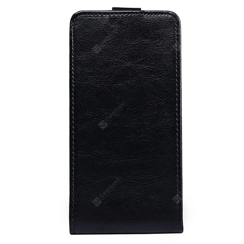 Up and Down Crazy Horse Stripes Pu Leather Case for Ulefone Power 3