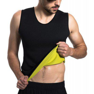 Heren Tummy Burner Gewicht Body Shaper Afslanken Shirt Sweatvest