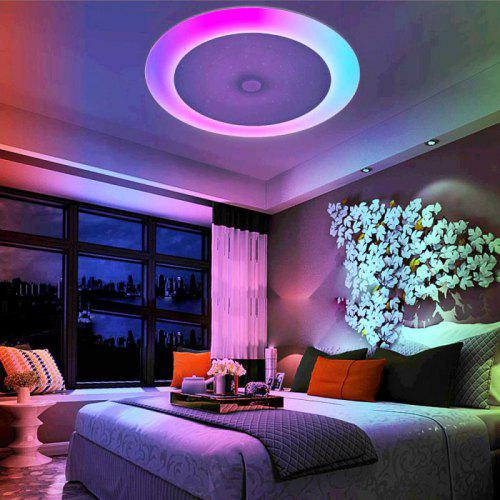 Gearbest Utorch X9901YX - 36W - XDGH Bluetooth Music Ceiling Light - WHITE Smart Voice Assistant Colorful LEDs Stepless Dimming App Control Timer