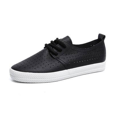 Pore Lace Up Chaussures Sneaker plates