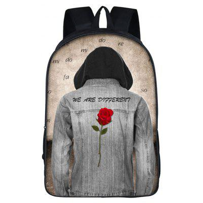 New Personal Printed Boy School Bag Travel Men Backpack -  21.83 Free  Shipping GearBest.com 0e6f824d6d