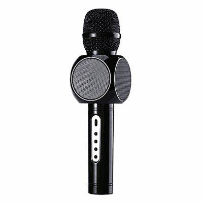 Portable Wireless Microphone Built in Bluetooth Speaker and Mini Handheld Cellph