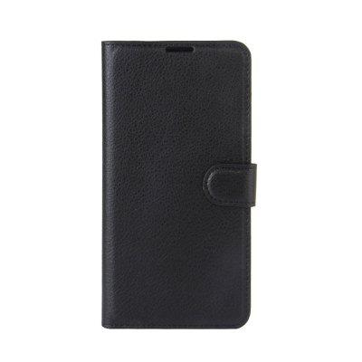 for Red Rice Note4 X Mobile Phone Shell Litchi Pattern Wallet Holster