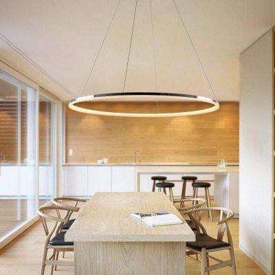 Modern LED Ring Shape Pendant Lamp