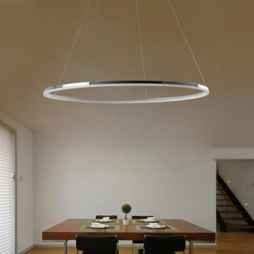 For Led Lamp Pendant Style Office Modern Shape Living Dining Room Ring Creative 0nw8kNOPX