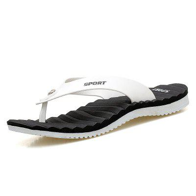 Microfibre Leather Summer Light Soles Flip-Flops Casual Outdoor Shoes