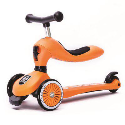 Cute Outdoor Trottinette for Children ORANGE