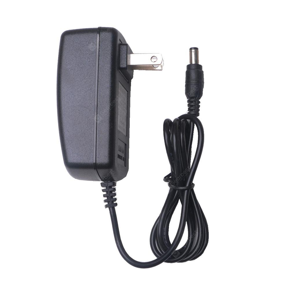 HML 12V 2A  Power Adapter for LED Light Strip - US Plug Black