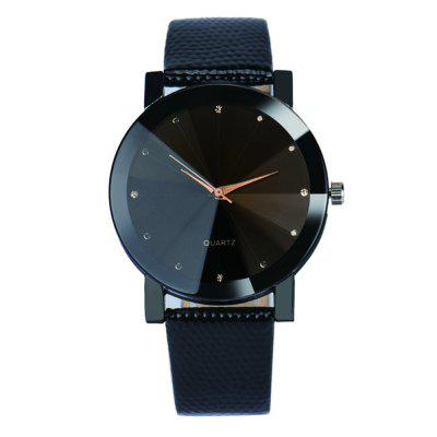 Luxury Simulated Diamond Quartz Sport Casual Creative Clock Fashion Watch