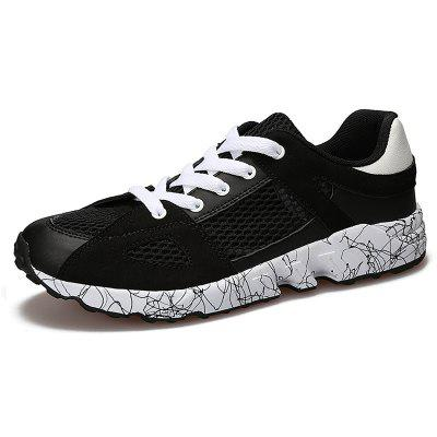 Summer Hollowed-Out Men's Breathable Sports Shoes
