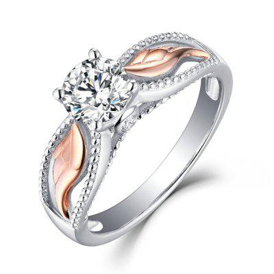 Artificial Diamond Wings Ring