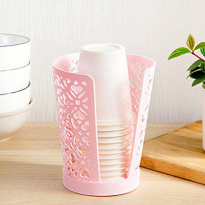 Hollow Drain Dust-Proof Hygienic Disposable Cup Storage Rack