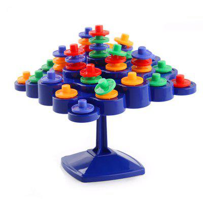 New Interesting Puzzle Balance Wheel Jenga Toy