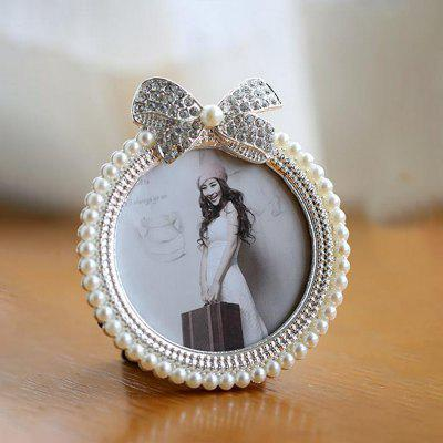 Creative Pearl Bow Cute Set Picture Frame