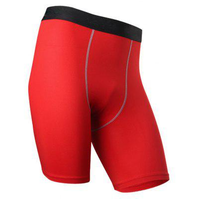 Men Gym Soccer Jersey Compression Basketball Running Shorts