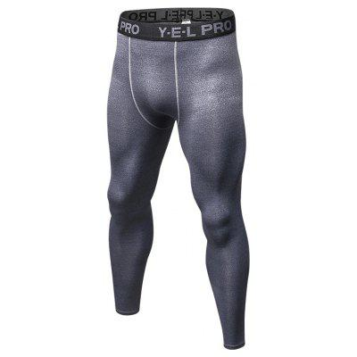 Hombre Quick Dry Tights Athletic Train Leggings Gimnasio Gym Sports Running Pants