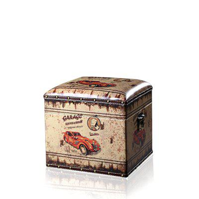 WX-D13A American Vintage Leather Storage Box