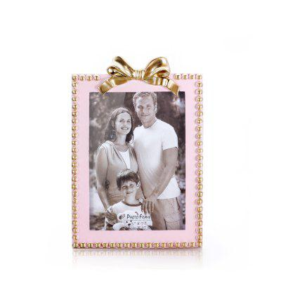 Bz-06 Home Decoration Simple Three-Dimensional Bow Photo Frame