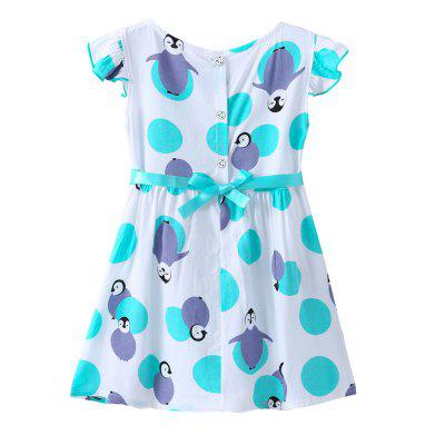 Newest Printed Penguin Cartoon Dress