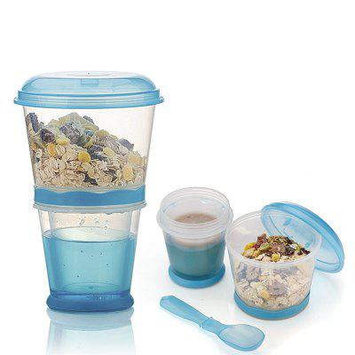 Breakfast Drink Cups Portable Yogurt and Cereal To Go Container Cup