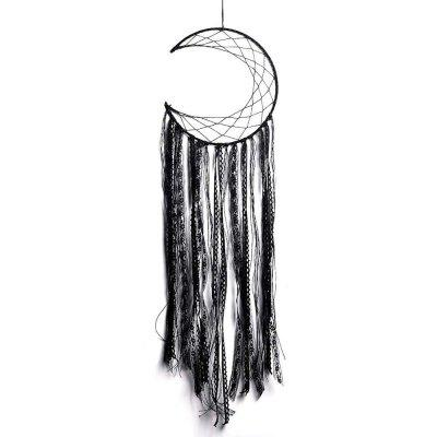 New Style Black Tassel Moon Dreamcatcher in The Home Decoration