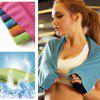Fast Cooling Towel ICE Cold Golf Ciclism Jogging Gym Sport În aer liber - PORTOCALE